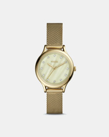 Fossil Laney Stainless Steel Watch Gold