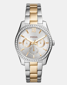 Fossil Scarlette Watch Silver & Gold