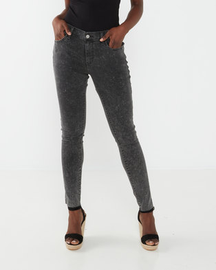 Levi's® Black 710®  Super Skinny Jeans Fast One