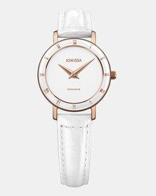 Jowissa Roma Swiss Ladies Watch White