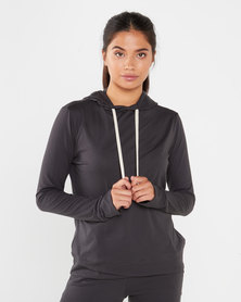 STRONG Ladies The Hoodie - Deep Charcoal
