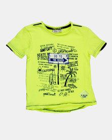 Blukids Boys T-Shirt Green