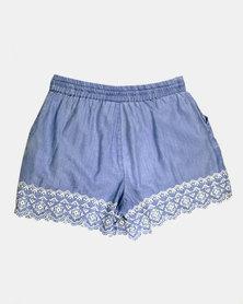 Blukids Girls Shorts Denim