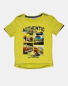 Blukids Boys T-Shirt Yellow