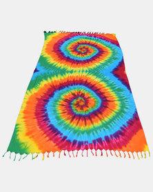 SKA Tie Dye Sarong Rainbow