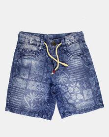 Blukids Boys Jean Shorts