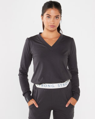 STRONG Ladies The Basic- Deep Charcoal