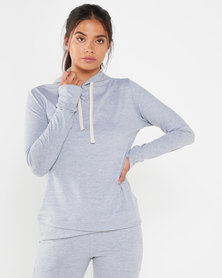 STRONG Ladies The Hoodie- Soft Grey