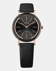 Jowissa Alto Swiss Ladies Watch Black