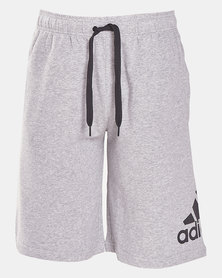 adidas Performance MENS MH BOS SHORT FT Grey