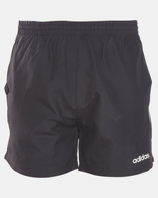 adidas Performance MENS E 3S PLAIN SHORTS Black