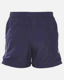 adidas Performance MENS E 3S PLAIN SHORTS Blue