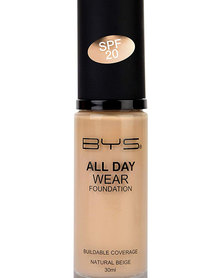 BYS 03 Natural Beige All Day Wear Foundation