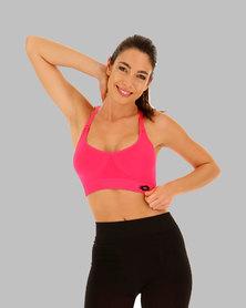 Lotto Women's Vabene Plus Top Pad - Pink