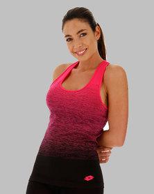 Lotto Women's Vabene Plus Tank- Pink