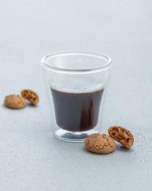 Leonardo Handmade Espresso Cup Double-Walled Glass Duo 85 ml Set of 2