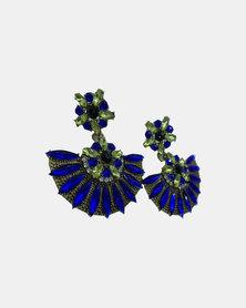Ziara Luxy Earring-Blue
