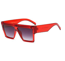 Third Drop Top Sunglasses Red