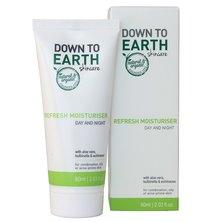 Down to Earth Refresh Moisturiser 60ml