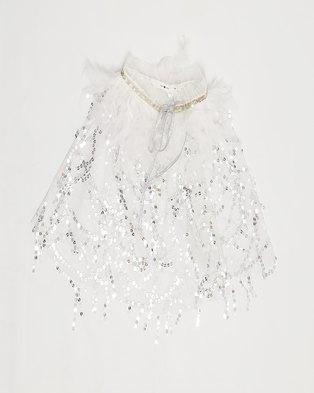 Anjo Couture Ponjo - Silver White