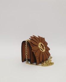 Anjo Couture Handbag - Designer Inspired F-Brown