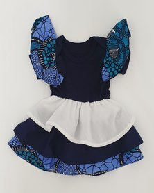 Anjo Couture - Romper - Navy