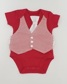 Anjo Couture - Romper - Red