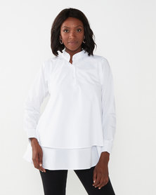 Exito Fashion House Charlie Classic White Shirt