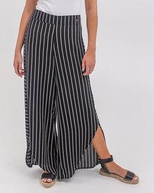 O'Neill Samantha Pants Black/White Stripe