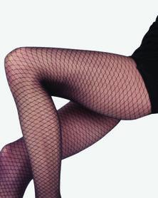 Scarlet Avant Garde Designer Opaque Stockings Black