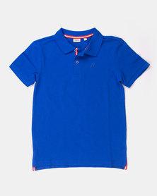Blukids Boys Golfer Blue