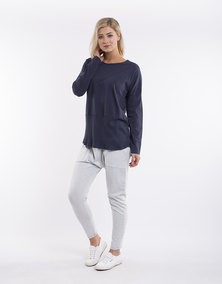 Elm Fundamental L/S Rib Tee