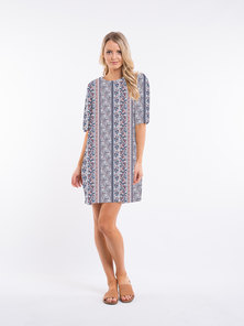 All About Eve PAISELY SHIFT DRESS