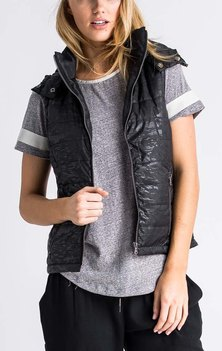 All About Eve Stealth Puffa Vest