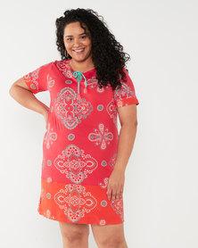 Maya Prass Sierra Shift Dress Watermelon
