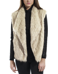All About Eve Inlet Fur Coat