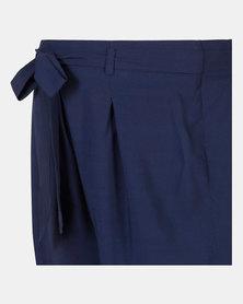 Foxy Mama Navy Summer Shorts