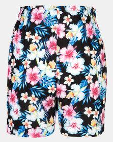 Foxy Mama Floral Summer Shorts