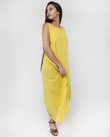 Mamoosh maxi dress yellow