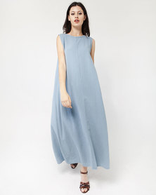 Mamoosh maxi dress pale blue