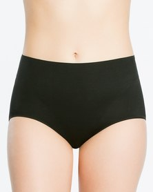 Spanx Retro Brief Very Black