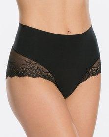 Spanx Undie-tectable Lace Hi- Hipster Panty Black