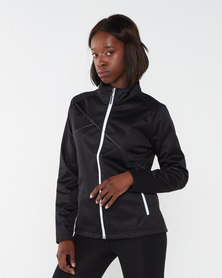 Swagg Air-tech Knitted Ladies Softshell Jacket Black