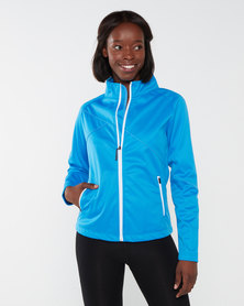 Swagg Air-tech Knitted Ladies Softshell Jacket Blue Aster