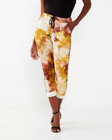 UB Creative Dye Technique Pants Yellow