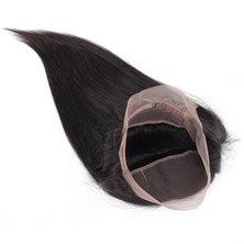 Blkt 10 inches Peruvian 360 Straight Weave Closure