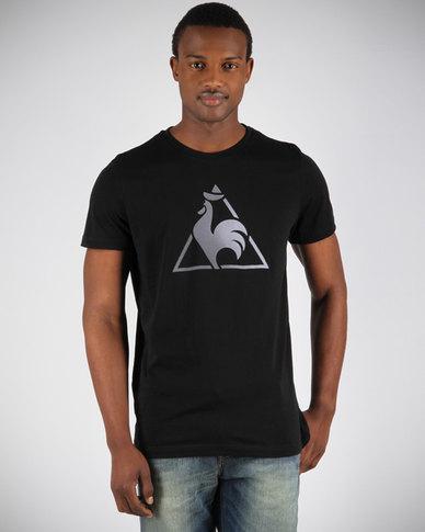 le coq sportif logo t shirt black zando