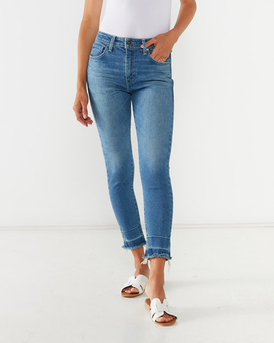Levi's Made & Crafted Made in Japan 721 High Rise Skinny Ankle Jeans