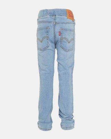 Little Boys (4-7X) Skinny Fit Pull-On Pants