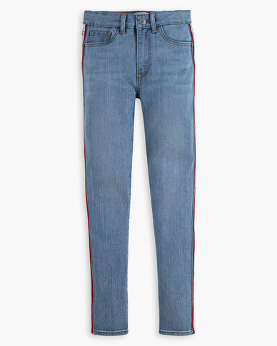 Big Girls (7-16) 720 High Rise Super Skinny Fit Jeans
